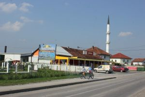 Bosnien-Minarett